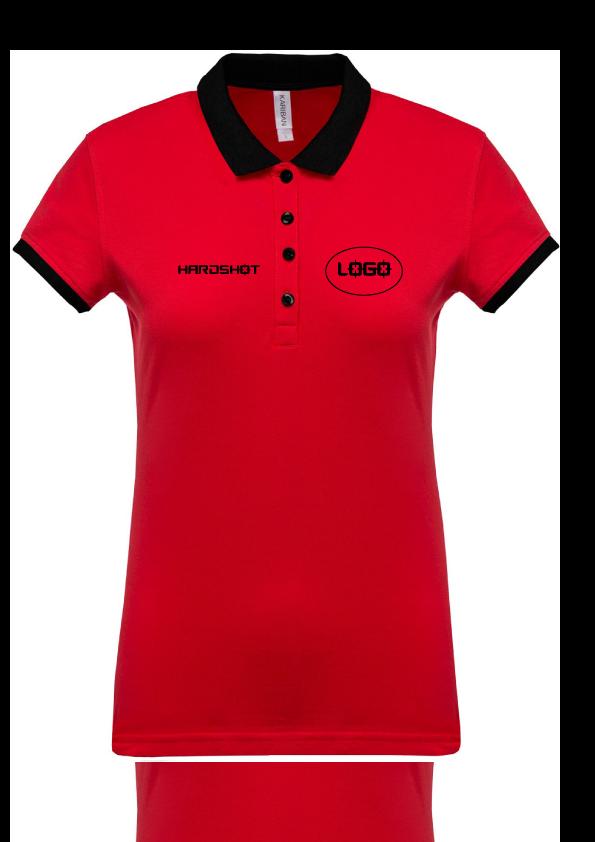 Polo Femme Coach rouge